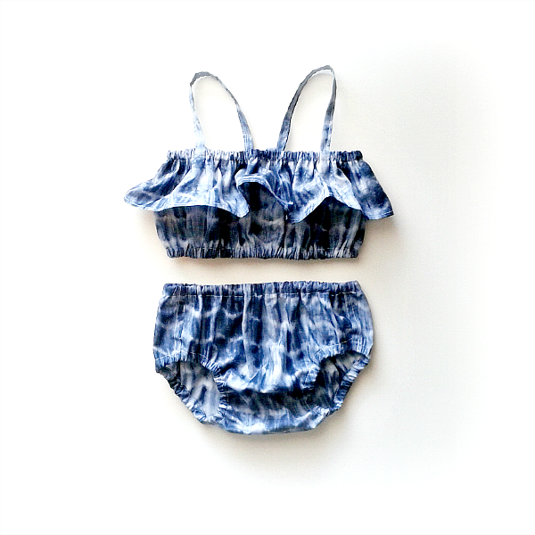 Image of Shibori 2-Piece Sunsuit