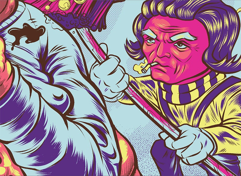 Image of Primus 2015 Gig Poster (S/N Edition)