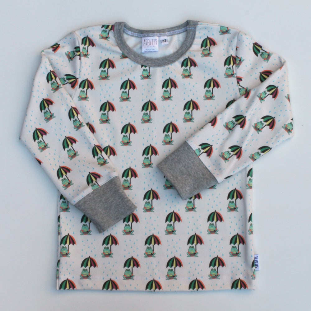 Image of Kids Long Sleeve - Frogs