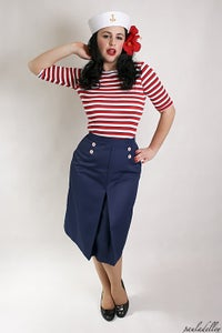 Image of 'Little Jess' skirt - Nautical