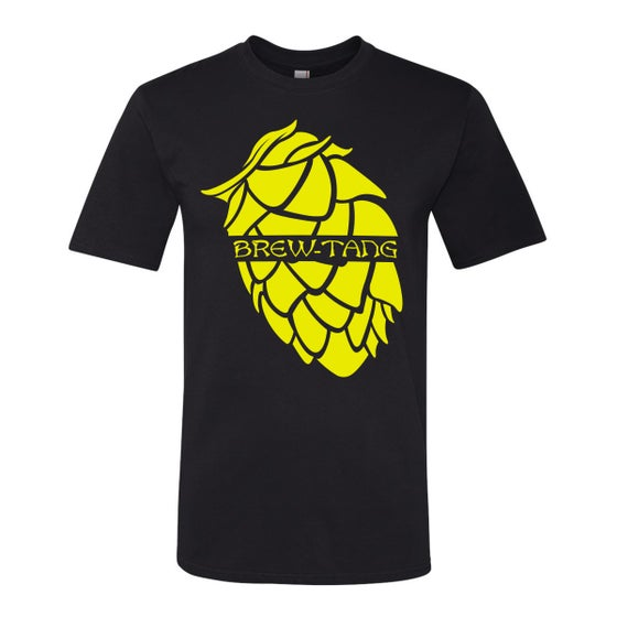 Image of Brew-Tang Tee (Black/Yellow)