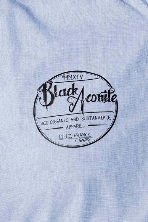 Image of Logotype - Chemise tissée homme