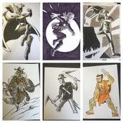 Image of Rachel and Miles X-Plain the X-Men episode illustrations ORIGINAL ART