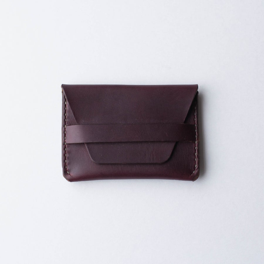 Image of Oxblood Flap Wallet