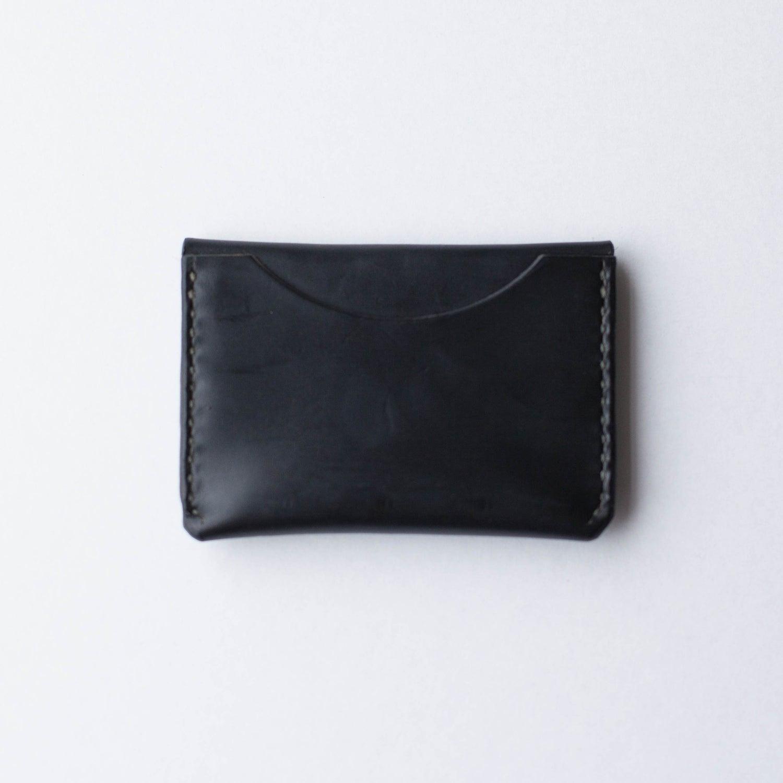 Image of Black Flap Wallet