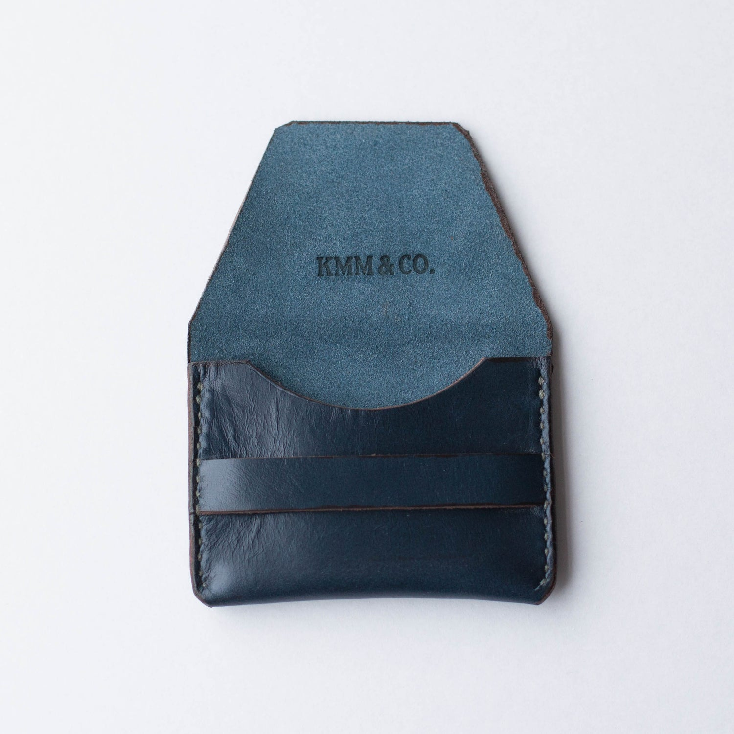 Image of Navy Blue Flap Wallet