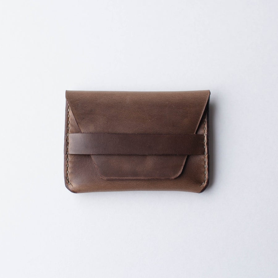 Image of Natural Flap Wallet