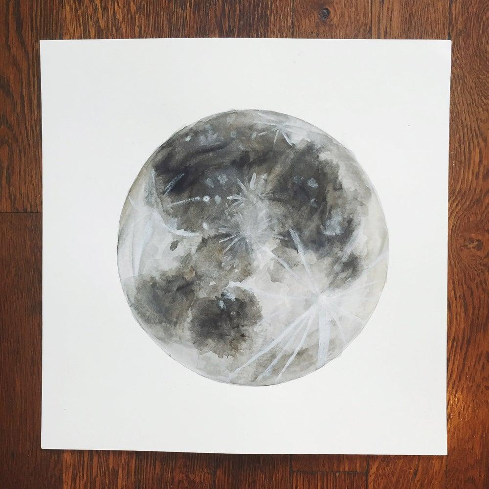 Image of Moon - 12x12