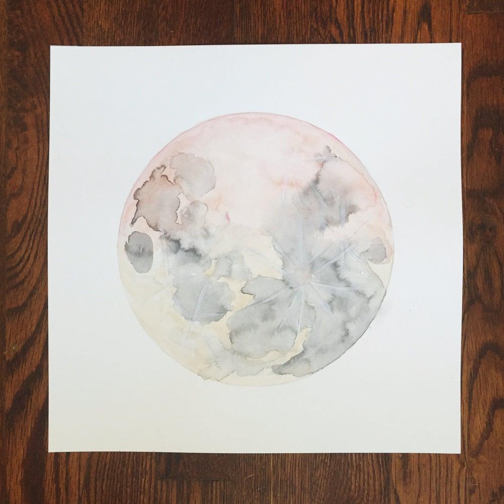 Image of Desert Moon - 12x12