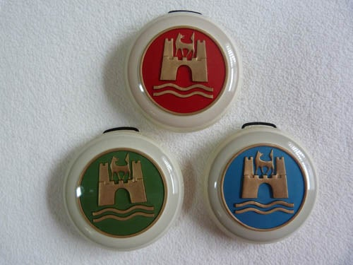 Image of CUSTOM HORN BUTTONS - 3 color