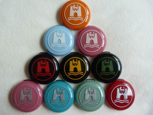 Image of CUSTOM HORN BUTTONS - 2 color