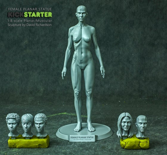 "Image of 9"" Female Planar Statue Pre-Order (Sept-Dec)"