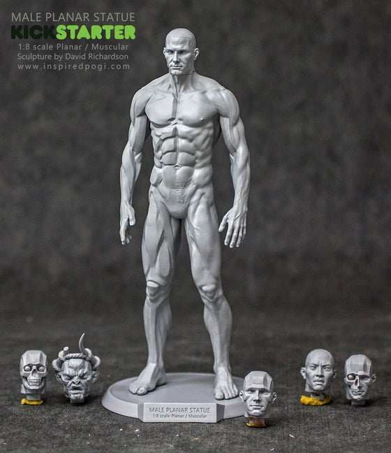 "Image of 9"" Male Planar Statue Pre-Order (Sept-Dec)"