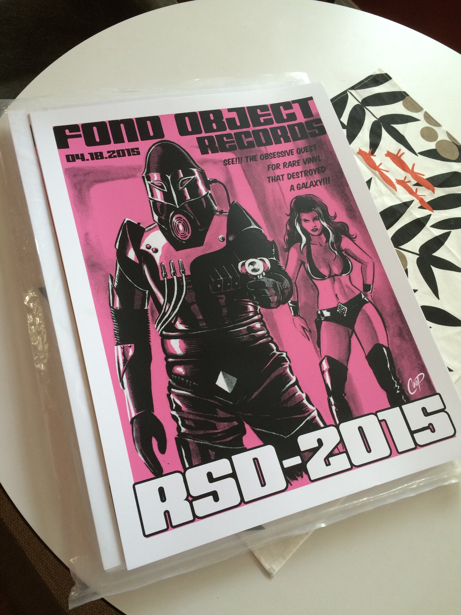 Image of FOND OBJECT RSD 2015 Screenprint