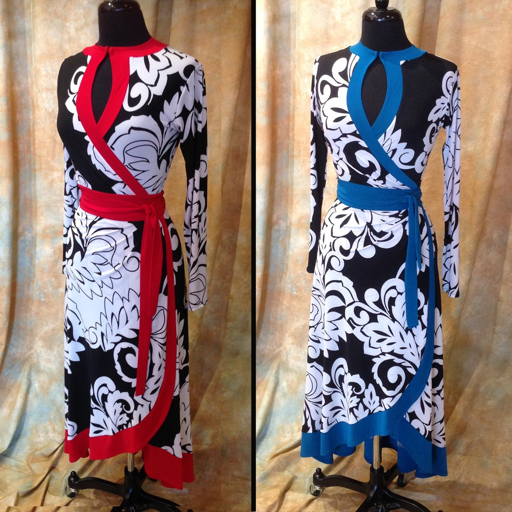 Image of LIBERTINE WRAP DRESS