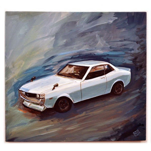 Toyota Celica TA22 - Matt Q. Spangler Illustration