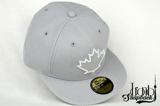 Image of TORONTO BLUEJAYS SPRING TRAINING GRY/WHT 5950 FITTED CAP