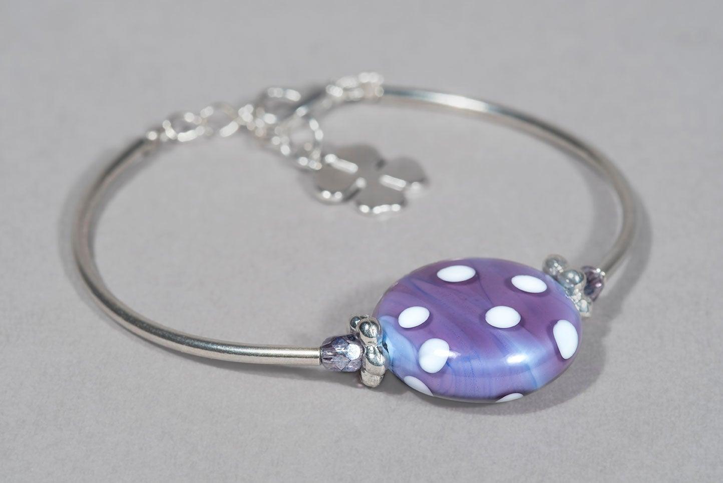 Image of BRACCIALE MINNIE in perle di vetro di Murano
