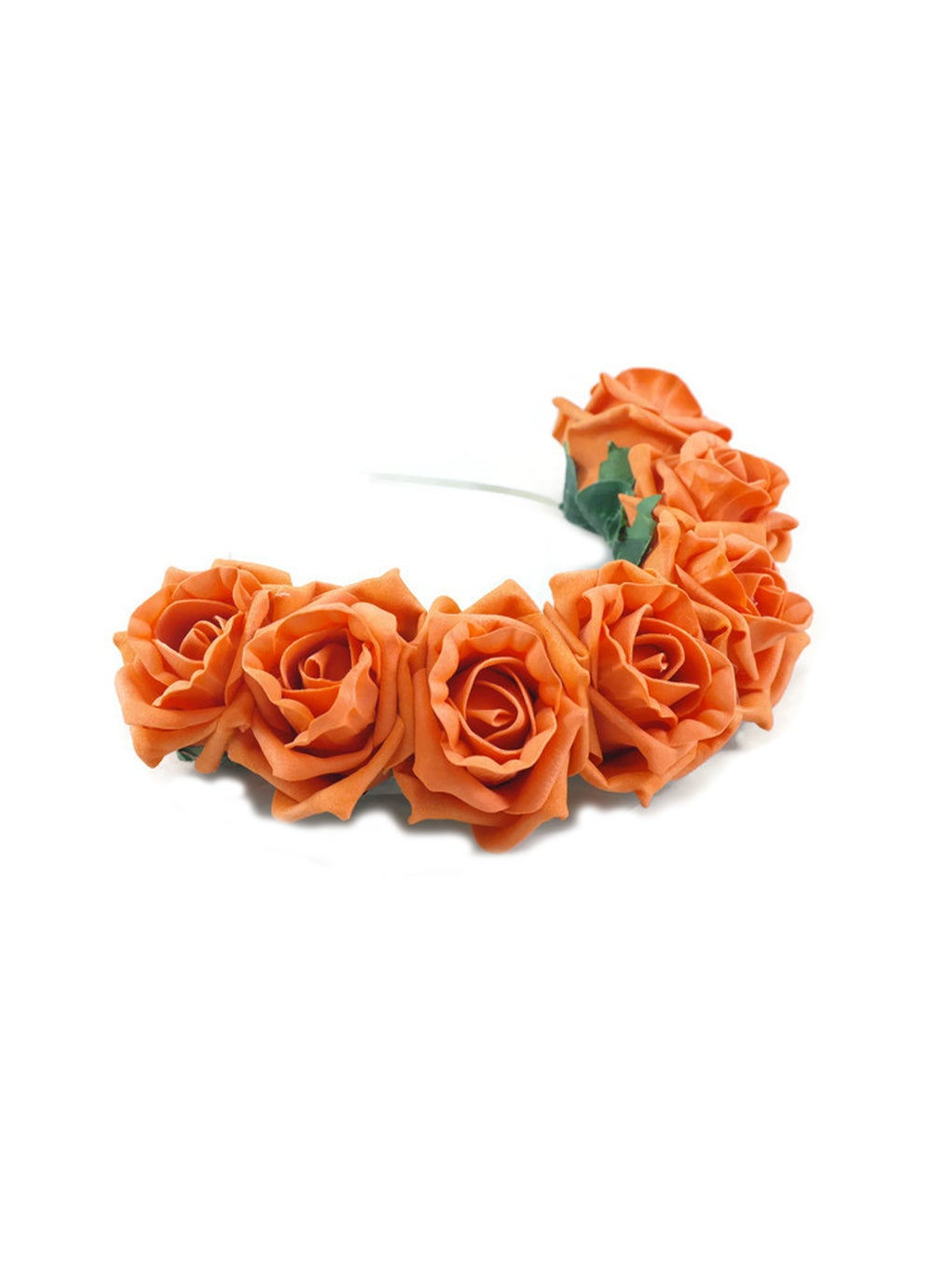 Image of Blooming Rose Crown Tangerine