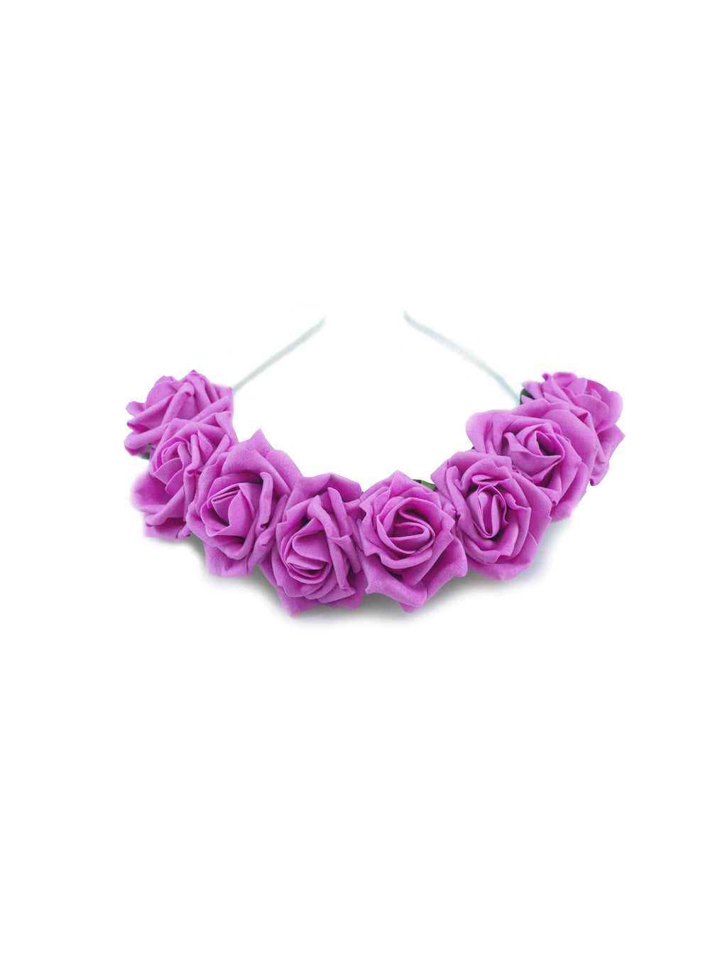 Image of Ring of Roses Crown Hot Pink