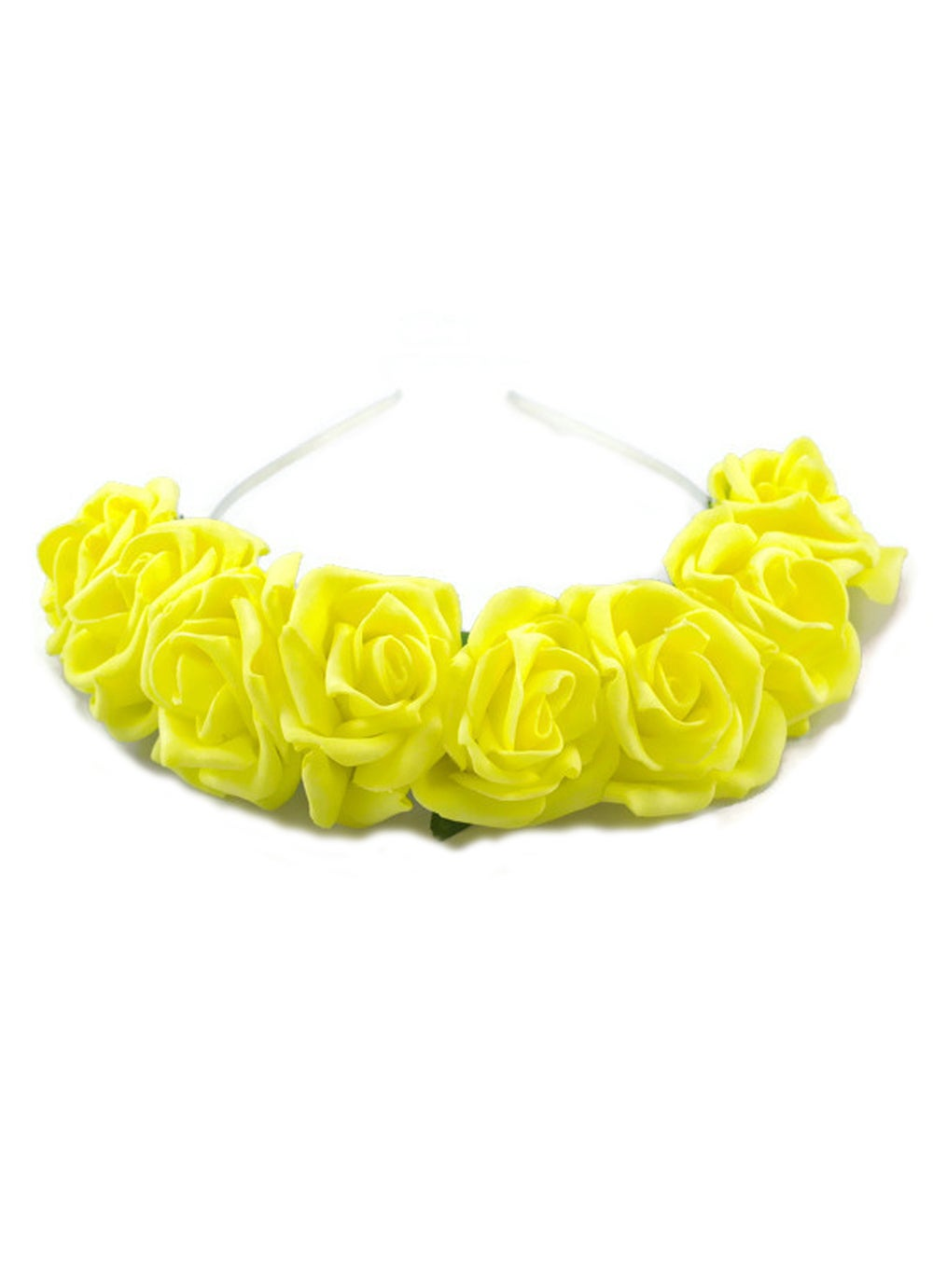Image of Ring of Roses Crown Lemon