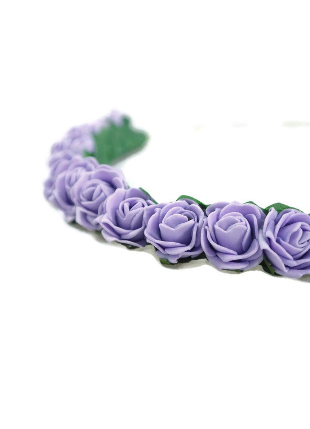 Image of Mini Rose Crown Lilac