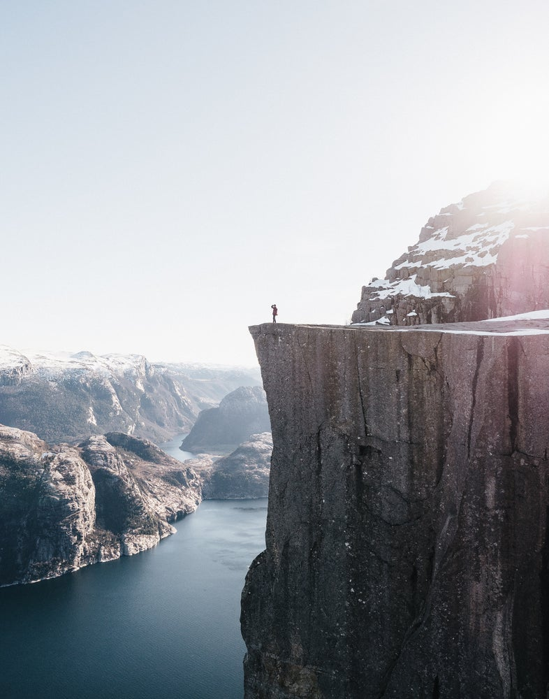 Image of Surveying Preikestolen