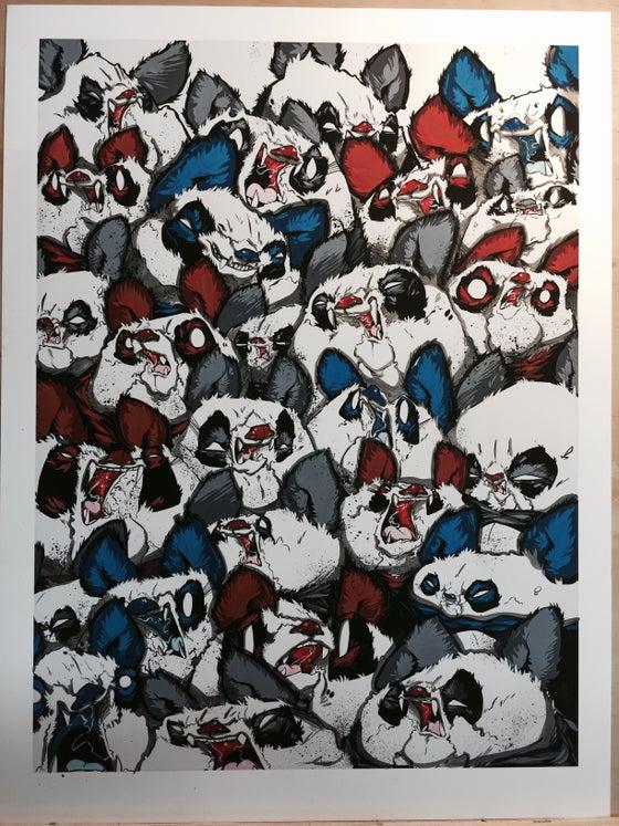 Image of Fangs and Furballs AP print. 1-2