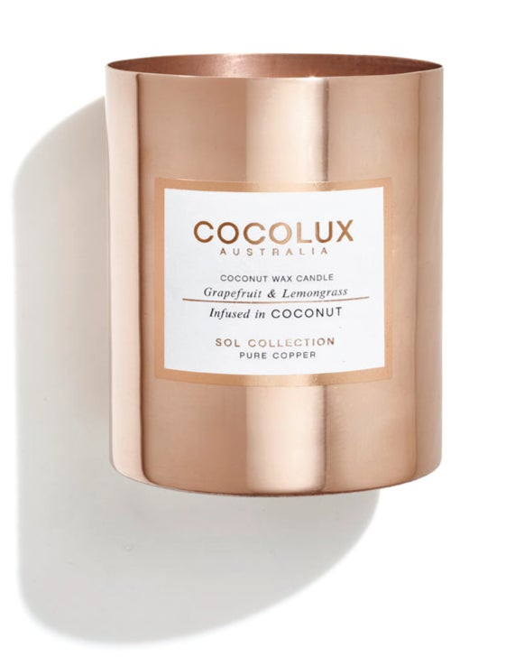Image of COCOLUX l Grapefruit & Lemongrass infused in Coconut wax 350g