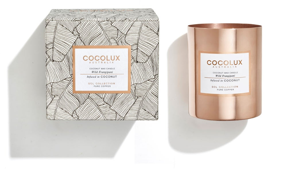 Image of COCOLUX l Wild Frangapini infused in Coconut wax 350g