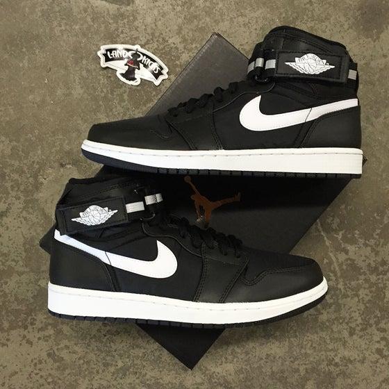 Image of Nike Air Jordan 1 High Strap 'Black/White'