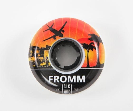 Image of Sic Urethane Jon Fromm pro wheel