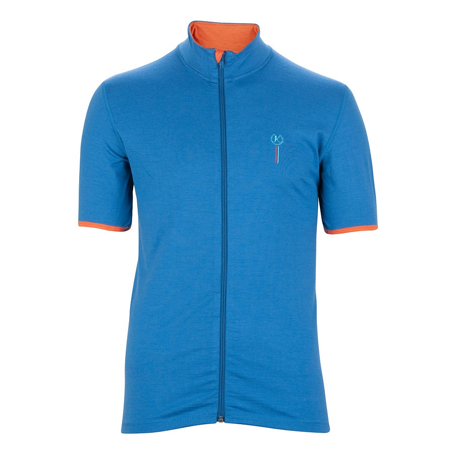 Image of KRES Sports merino cycling Jersey