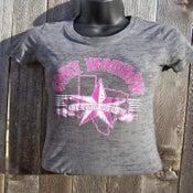 Image of Ladies Burnout Tee - TX Country Music Rocks