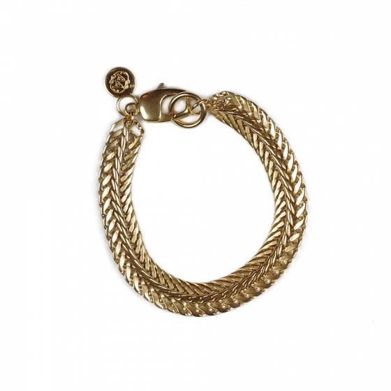 Image of Bracelet ROBERT plaqué or