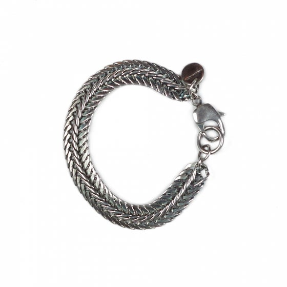Image of Bracelet ROBERT plaqué argent
