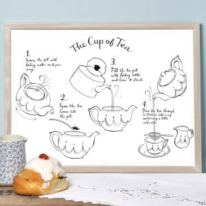 Alice Tait 'Cup of Tea' Print - Alice Tait Shop