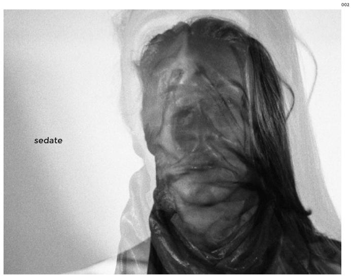 "Issue 002 of Sedate Zine ""Opaque"""