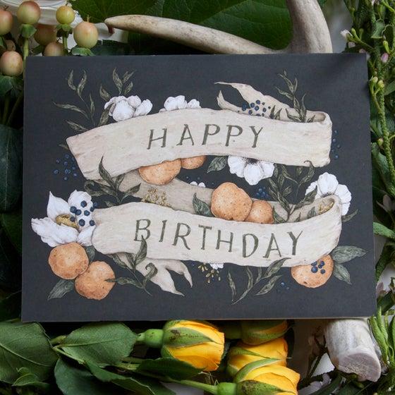 Image of Happy Birthday Card