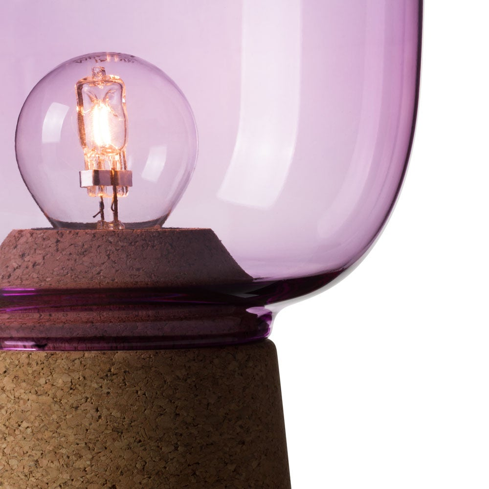 Image of Picia table lamp orchid purple