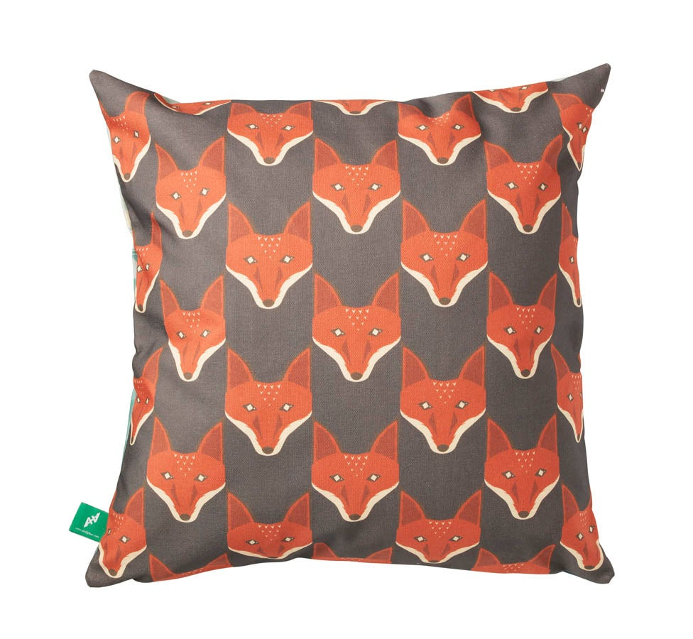 "Image of ""The Fox And The Lost Soldier"" Cushion Cover"
