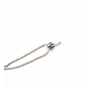 Image of BICYCLE SEAT CHARM NECKLACE