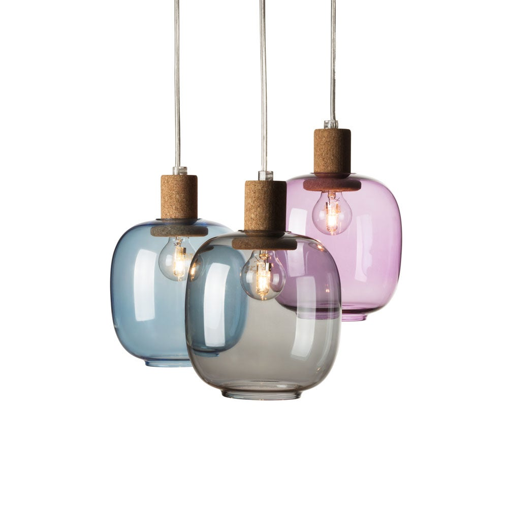 Image of Picia suspension smoked glass