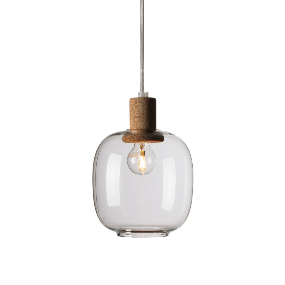 Image of Picia suspension clear glass
