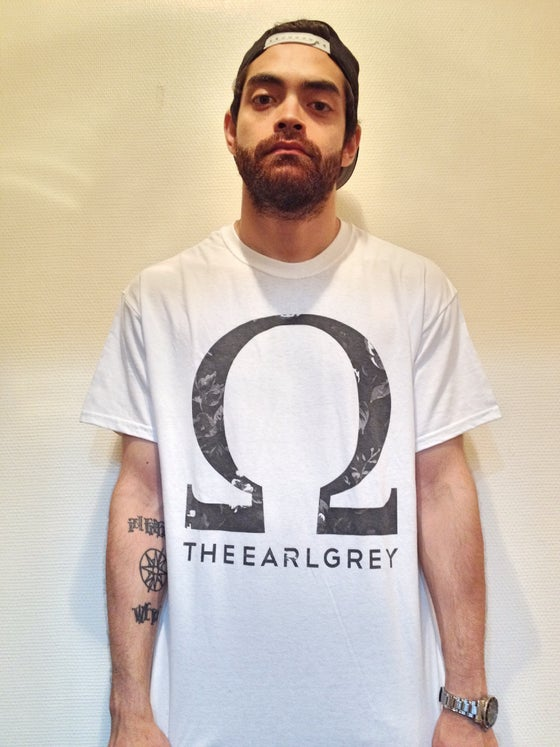 "Image of THE EARL GREY'S ""OMEGA"" TEE SHIRT (BOYS AND GIRLS)"