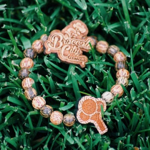 Image of Broccoli City Bracelet & Pin Set