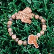 Image of Broccoli City Bracelet & Pin Set