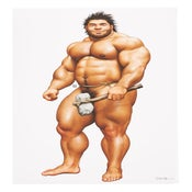 "Image of Caveman Guu 24x36"" Giclée Print by Jiraiya"