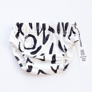 Image of Organic cotton ABSTRACT bloomer