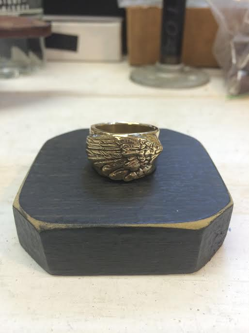 Image of Angel Wing Ring, Right